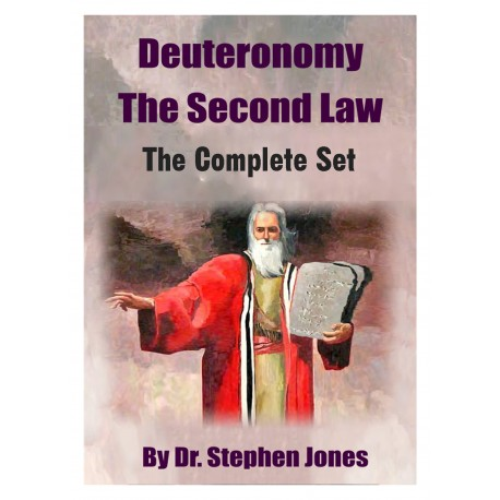 Deuteronomy: The Second Law - Complete Set